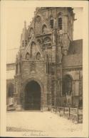 BELGIQUE ASSCHE / Eglise, Portail /