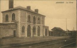 BELGIQUE ASSESSE / La Gare / - Assesse