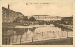 BELGIQUE ATH / Le Canal Et Usine Emile Cambier / - Ath