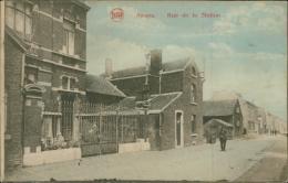 BELGIQUE AWANS / Rue De La Station / - Awans