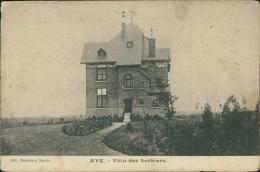 BELGIQUE AYE / Villa Des Sorbiers / - Belgique