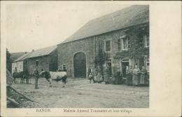 BELGIQUE BANDE / Maison Amand Toussaint et Vue du Village /