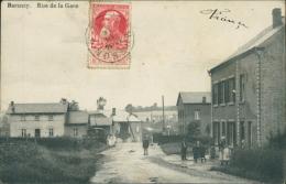 BELGIQUE BARANZY / Rue de la Gare /