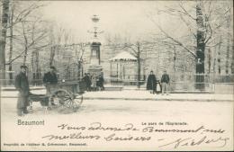 BELGIQUE BEAUMONT / Le Parc De L'Esplanade / - Beaumont