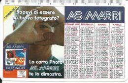CAL613 - CALENDARIETTO 2004 - AS/MARRI - Calendari