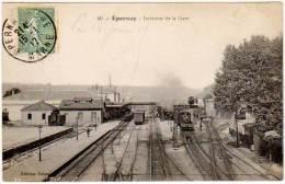 Epernay - Intérieur De La Gare - Epernay