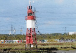 Postcard - Stoneness Lighthouse, River Thames. SMH65B - Lighthouses