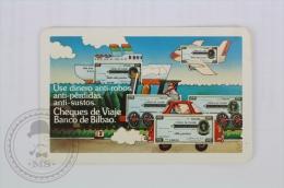 Spanish Advertising Calendar - Bilbao Bank - Edited: Heraclio Fournier 1978 - Tamaño Pequeño : 1971-80