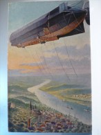 Graf Zeppzlins Motorluftschiff - Avions