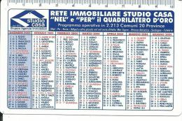 CAL624 - CALENDARIETTO 2004 - STUDIO CASA - Calendari