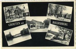 Zolder :  OUD Bolderberg   :  Groeten Uit    ( Geschreven Met Zegel ) - België