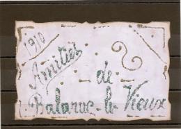"""34/ Carte Souvenir """" 1910 Amities De Balaruc Le Vieux """" Carte Unique Personnallisée En 1910 - Francia"""