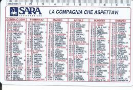 CAL636 - CALENDARIETTO 2004 - SARA ASSICURAZIONI - Calendari