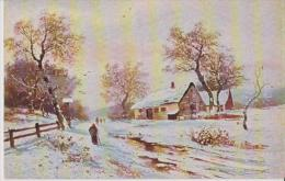 RAPHAEL TUCK OILETTE SNOWTIME BELLE CARTE RARE !!! - Tuck, Raphael