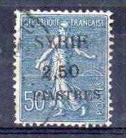 Syrie N°113 Oblitéré - Syria (1919-1945)