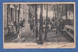 CPA - PERRAY VAUCLUSE - Terrasse Du Restaurant De La Gare - TOP RARE - édition De L´ Orge à Savigny - Non Classés
