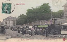 TOUT PARIS - Le Marché Alibert - Le Long De L'Hospice St-Louis - Arrondissement: 10