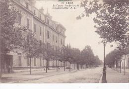 Cpa-69-lyon-cours Suchet Gendarmerie-edi P.L. N°72 - Lyon