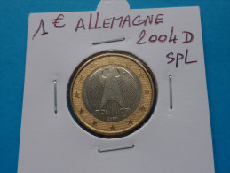 1  EURO  ALLEMAGNE  2004 D  Spl  (  2  Photos  ) - Germany