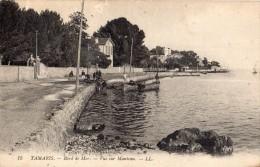 LA SEYNE-SUR-MER QUARTIER DE TAMARIS-SUR-MER VUE SUR MANTEAU  PECHEURS - La Seyne-sur-Mer