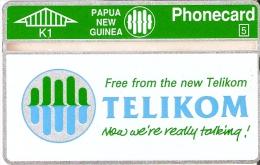TARJETA DE PAPUA Y NUEVA GUINEA DE TELIKOM  NUEVA-MINT - Papua New Guinea