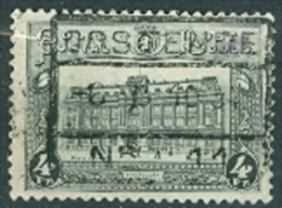 Belgien 1929 Postpaketmarke 4 C. Hauptpostamt Brüssel - Portomarken