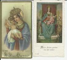 Kalmthout Heide 2 Oude Gebedsprentjes Missiehuis En Onze Lieve Vrouw Van De Heide - Religion & Esotérisme