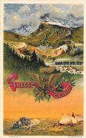 [DC5657] CARTOLINA - MILITARI - 6° REGGIMENTO GENIO ( Ferrovieri ) - Viaggiata - CP - Old Postcard - Regiments