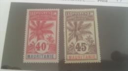 LOT 228899 TIMBRE DE COLONIE MAURITANIE NEUF* N�10/11 VALEUR 25 EUROS