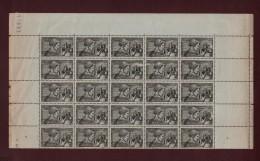 448 De 1939 -  Neuf * - Partie De Feuille De 25 Timbres - Languedocienne Et Cathédrale De Béziers - Ganze Bögen