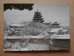 38505 PC: KOREA (South): Winter Skyline At The National Museum In Seoul. - Corée Du Sud