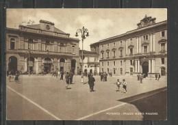 CARTOLINA 1950 - POTENZA - PIAZZA MARIO PAGANO - VIAGGIATA