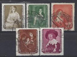 Germany (DDR) 1959  Dresdener Gemaldegalerie  (o)  Mi.693 -697 - [6] Democratic Republic