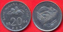 Malaysia 20 Sen 2004 XF - Malaysie