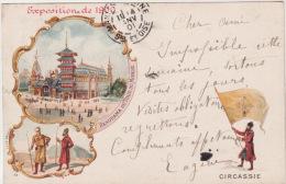 PARIS  EXPO 1900 -  Pavillon CIRCASSIE ( Belle Carte Illustrée ) - Expositions