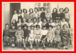 Photographie De Bermandreis Classe De 1950     ( Scan Resto Verso ) - Photos