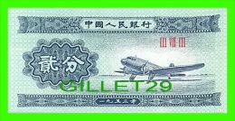 BILLETS DE CHINE -  AVION  - BILLET NEUF, 1953  - III VIII III - - Chine