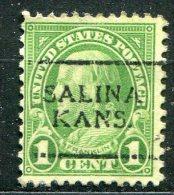 U.S.A. - Préoblitéré - Precancel - SALINA - KANSAS - Stati Uniti