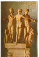 CO318  GRUPPO DELLE TRE GRAZIE  - Roma Musei Vaticani (Gabinetto Delle Maschere) - Sculptures