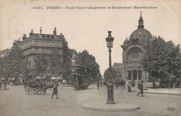 CPA Paris - Place Saint-Augustin Et Boulevard Malesherbes - Francia