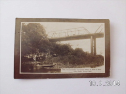Oak Street Bridge And River Drive At Base Of Bluff. (10 - 8 - 1908) - Other