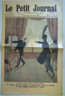 Le Petit Journal, Tragique épilogue D´une Querelle Politique, 29 Mars 1914, Dernière Page Les élèves De L´école - Le Petit Journal