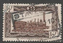1949 1/2fr Railway, Used - 1942-1951
