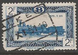 1949 2fr Railway, Used - Railway