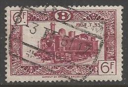 1949 6fr Railway, Used - 1942-1951