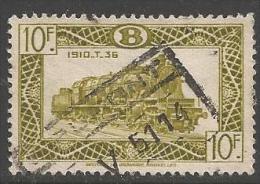 1949 10fr Railway, Used - 1942-1951