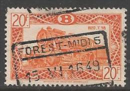 1949 20fr Railway, Used - 1942-1951