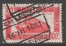 1949 100fr Railway, Used - 1942-1951