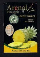 # PINEAPPLE ARENAL Fruit Tag Balise Etiqueta Anhanger Ananas Pina Costa Rica - Fruits & Vegetables