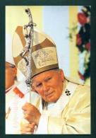 Pope John Paul II  -  Used Postcard Mailed From The Czech Republic - Famous People